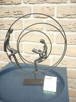 """Casablanca Design Skulptur """"Circles"""" 74609 Liebespaar  Geschenk Liebe TOP"""