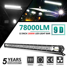32 Inch 1800W LED Light Bar Winter Snow Fog Lamp Combo Beam for Ford Jeep Toyota