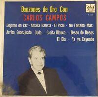 CARLOS CAMPOS & ORQUESTA -DANZONES DE ORO- MEXICAN LP STILL SEALED DANZON