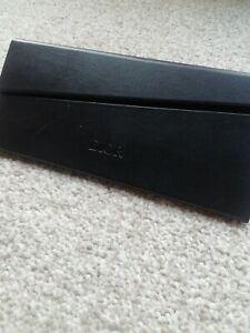 Christian Dior Triangle Foldable Black glasses Case