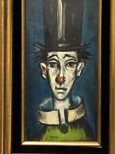 BEAUTIFUL MID CENTURY MODERN PAINTING SIGNED NENE/ /PICASSO,BUFFET  INFLUENCES