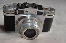 BRAUN Paxette 1M 1954 Rangefinder VINTAGE camera + leather case UNUSUAL