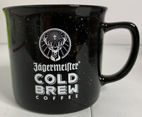 Jagermeister Cold Brew Coffee Black & White Coffee Mug Pre Owned Jager Bomb Cup