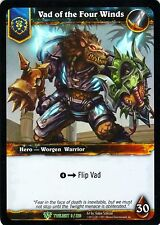 WOW Vad of the Four Winds TWLIGHT 9/220 FOIL - WORLD OF WARCRAFT ENG MINT