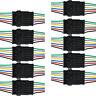10 x 6-Polig Kabel Steckverbinder Stecker Wasserdicht Schnellverbinder KFZ WYS