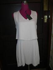Amazing All Saints Taya Dress Camipink Size 10 BNWT