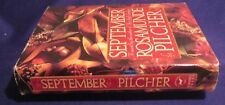 1990 SEPTEMBER The Shell Seekers Hardcover Book by ROSAMUNDE PILCHER  Ex-Library