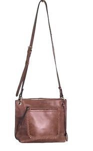 TOMMY BAHAMA Women's Leather Crossbody Bag Cognac..Medium