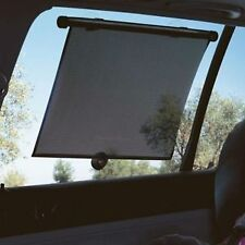 Pair of Car Window Sun Shade Roller Blinds Screen Sun Protection 45cm x 54cm