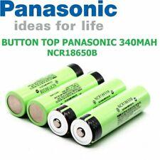 GENUINE PANASONIC 3400mAh NCR Button Top Li ion Battery