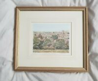 Limited edition print of ludlow town and castle