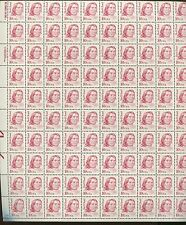 Pane of 100 USA Stamps 2175a Native American Red Cloud Brookman Price $115