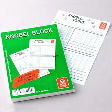 4 Knobel Blöcke je 100 Blatt in DIN A6, Schreibblock, Aufschreibblock von Frobis