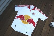 Autographed New York Red Bull Adidas Clima Cool Adult Large Jersey signed by 22
