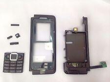 Original & New Keypad Back Front cover w/ Flex for Nokia E90 Mocha Brown