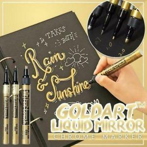 Golden Liquid Chrome Marker