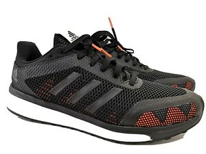 NIB - Adidas Response+ M boost running shoes 10.5 - Black with red