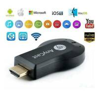1080P TV Stick Google Dongle Chrome Cast Mac HDMI Anycast Smart Media Player DE