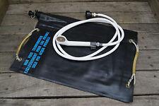 Original Schweizer Wassersack Trinkwassersack 20l Solardusche mit Duschkopf