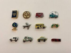 Authentic Origami Owl Travel Charms - NEW & Retired
