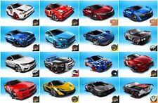 Hot Wheels Plastic Contemporary Diecast Cars, Trucks & Vans