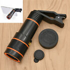 Cell Phone Camera Lens 12x Zoom Telescope Clip On for Smart Phone Accessories