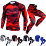 Men's Compression Legging Gym Workout Gym Long Sleeved T-Shirt Quick-dry Spanex