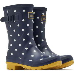 Joules Molly Welly Womens Ladies Wellies Short Rubber Wellington Boots Size 4-8