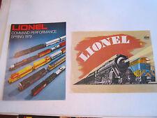 LARGE LOT OF 1970'S LIONEL TRAIN CATALOGS - COLLECTIBLE - BOX C