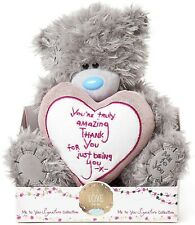Tatty Teddy Me to You Bear You're Truly Amazing Thank You 22cm Soft Plush Gift