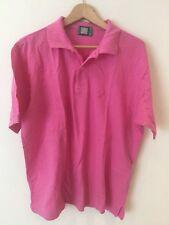 Sergio  Tacchini Men's Pink Polo T/Shirt XL