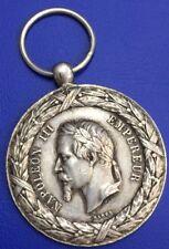 Napoléon III médaille Campagne d'Italie 1859, médaille argent, silver medal