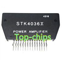 1PCS STK4036X Encapsulation:SIP-ZIP,AF Power Amplifier Split Power Supply 50