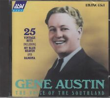 """Gene Austin """"The Voice Of Southland"""" NEW & SEALED CD 1925-36 1st Class Post UK"""