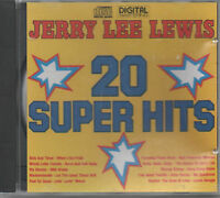 Jerry Lee Lewis 20Super Hits CD NEU Sick And Tired When I Get Paid My Bonnie