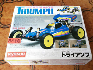 Kyosho 1/10 TRIUMPH NIB Vintage never assembled