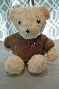 Child's Plush Toy Bear by Dan Dee  White in Color