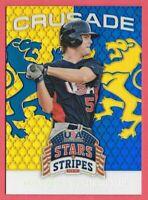 2015 Jesse Winker Panini USA Stars and Stripes Crusade Rookie - Cincinnati Reds