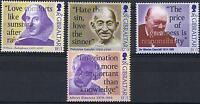 Gibraltar:1998 Famous Quotations set MUH TS414