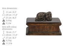 Pekinese, exclusive Urne, Kalte Bronze, ArtDog, DE