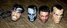 Lot Of Marvel Legends Punisher Heads