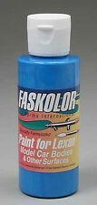 Parma Faskolor Fluorescent Blue Body Paint 2oz 40106 Par40106