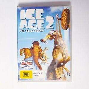 Ice Age 2 The Meltdown Movie DVD Region 4 AUS Free Postage - Kids Children