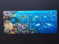 Australian Decimal Stamps: 1995 The World Down Under - Mini Sheet MNH