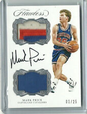 2016-17 MARK PRICE FLAWLESS DUAL PATCH JERSEY AUTO #ED 01/25 FIRST ONE!!