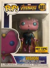 SOLD OUT Funko Pop Vision Marvel Avengers Infinity War LE Hot Topic ExcL. 307