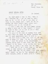 Vintage 1962 SPACEMEN & FAMOUS MONSTERS fan letter - FORREST ACKERMAN COLLECTION