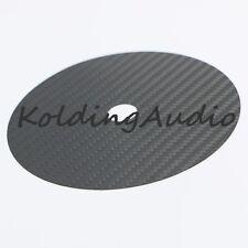 1 CD Tuning Mat Stabilizer Carbon Fiber Up Grade HIFI clamp Top Tray Player Bk