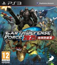 Earth Defense Force 2025 PS3 - totalmente in italiano