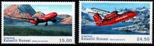 Greenland 2016 Aircraft, Airbus 330 & De Havilland Canada Dash 8, UNM / MNH